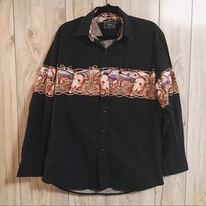 Western Button Down Shirt